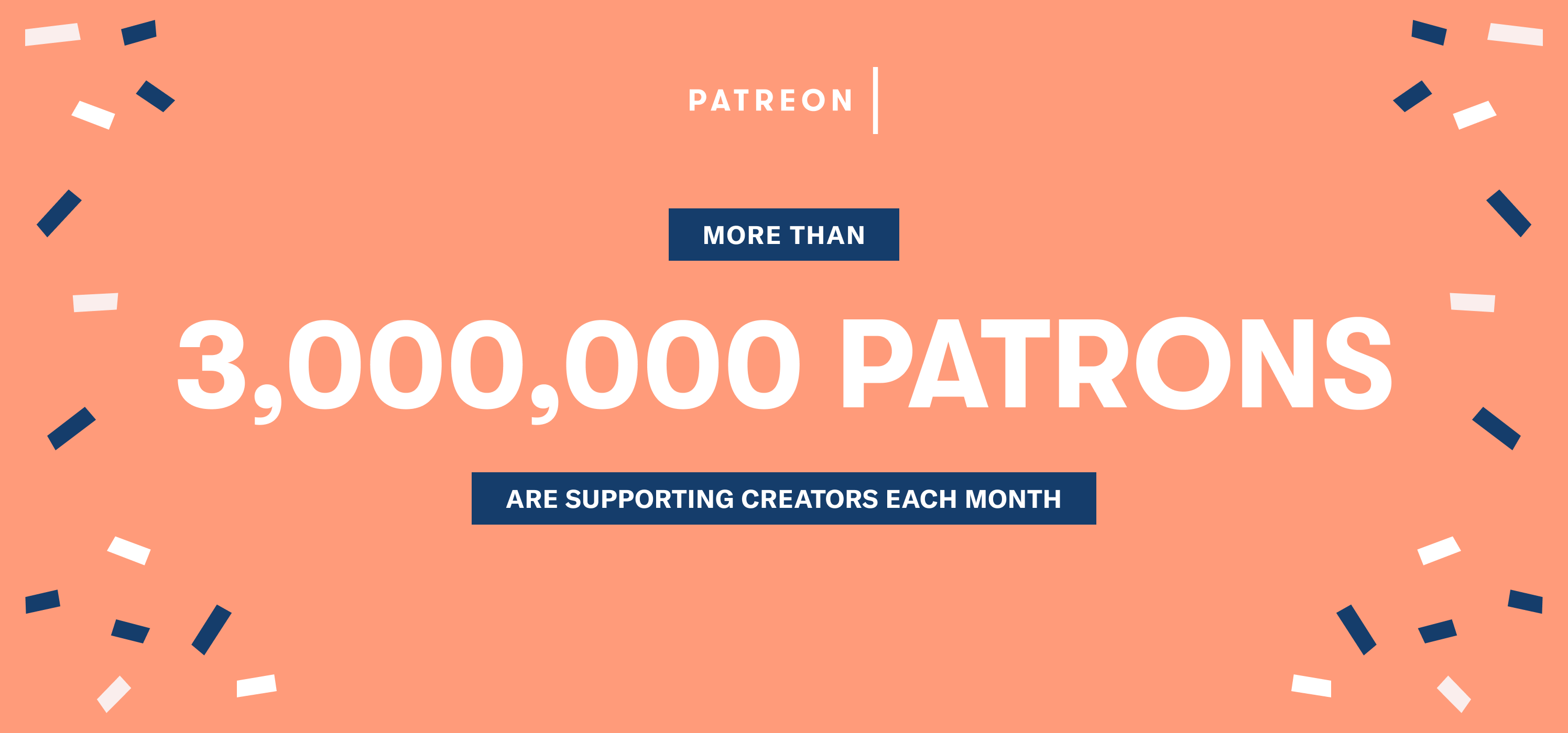 Millions and Billions | Celebrating Patrons, Creators, and Major Milestones