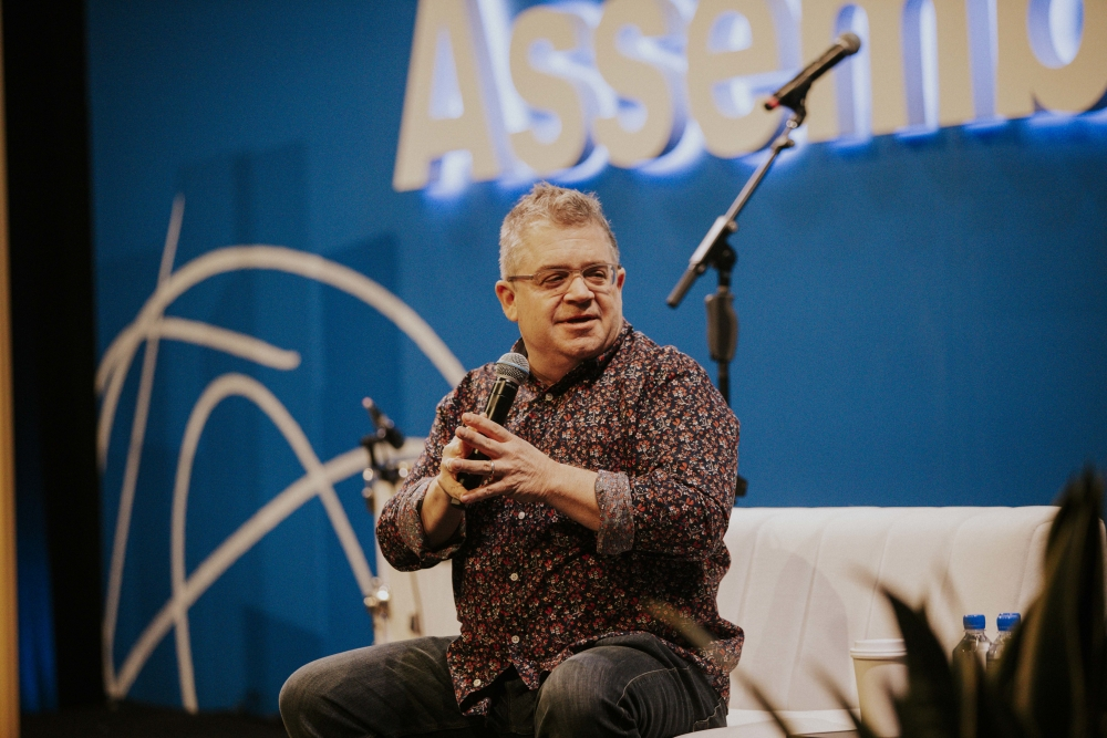 Comedian Patton Oswalt Talks Creative Risk, Fear, and Creating Something New