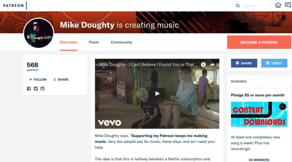 Mike-Doughty-patreon