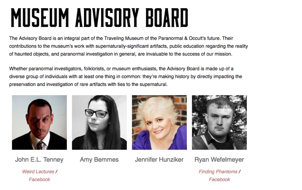 paranormaloccult-museum-advisory-board