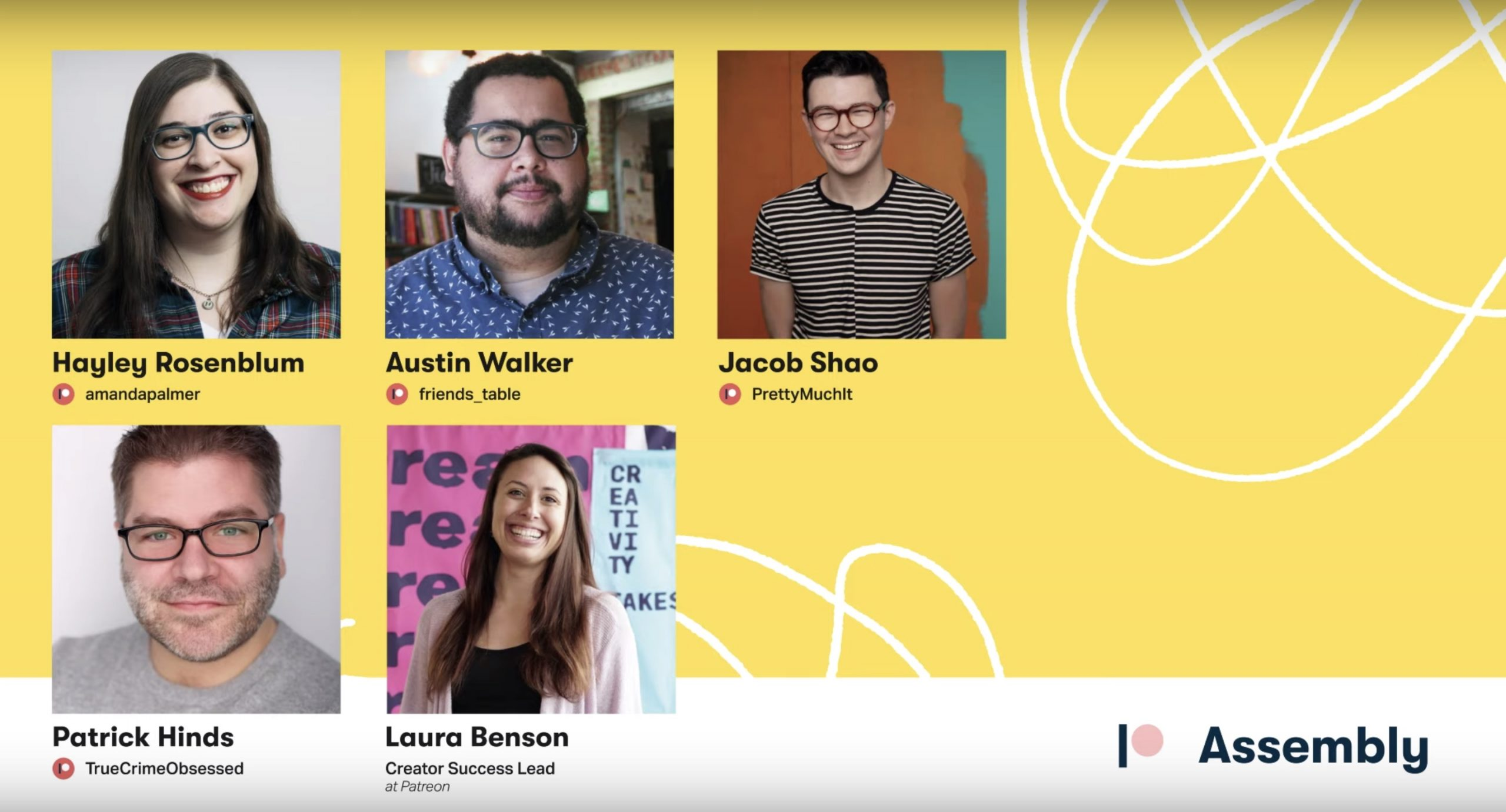 WATCH: Patreon Creator Panel Live from New York