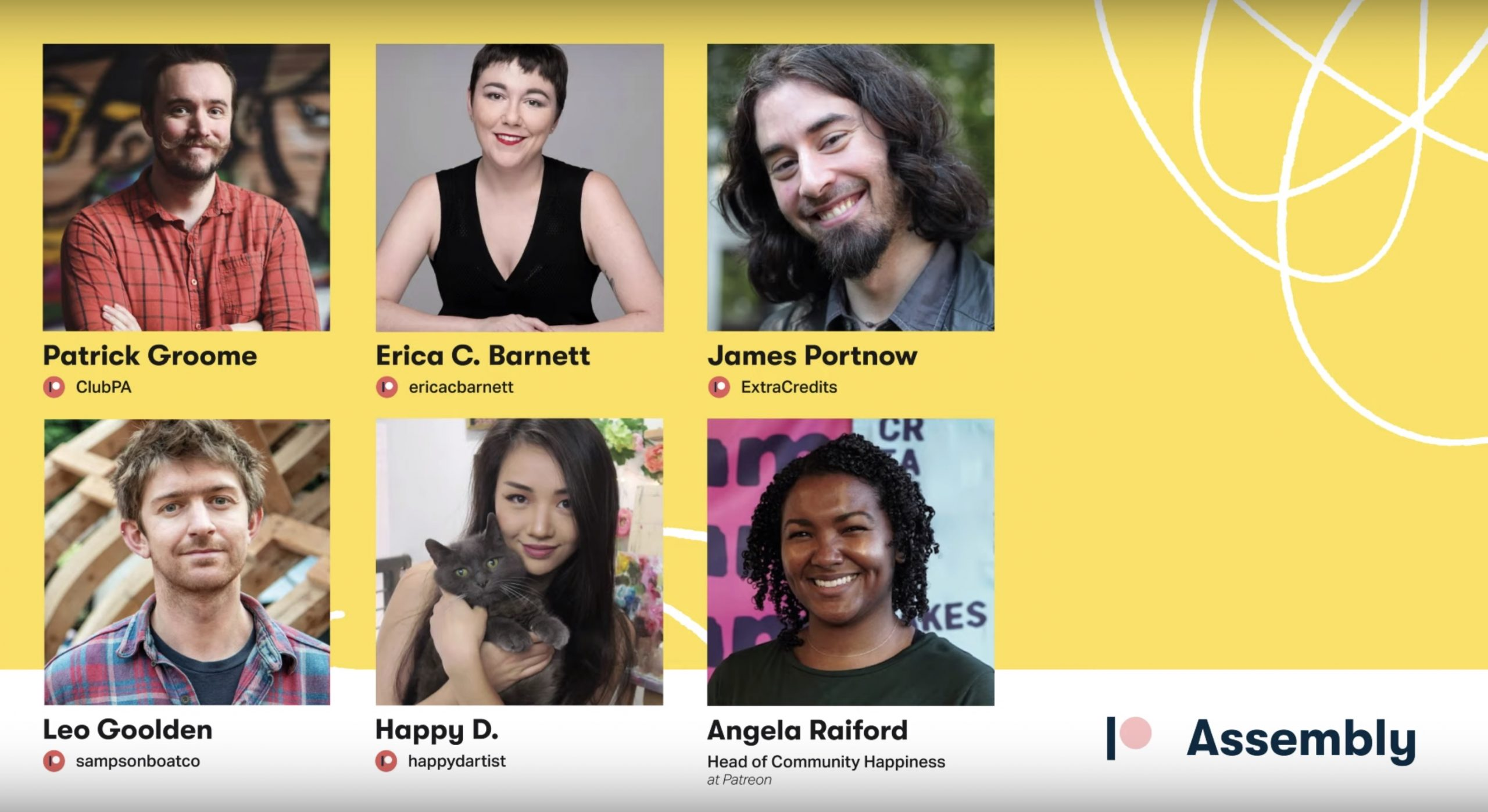 WATCH: Patreon Creator Panel Live from Seattle