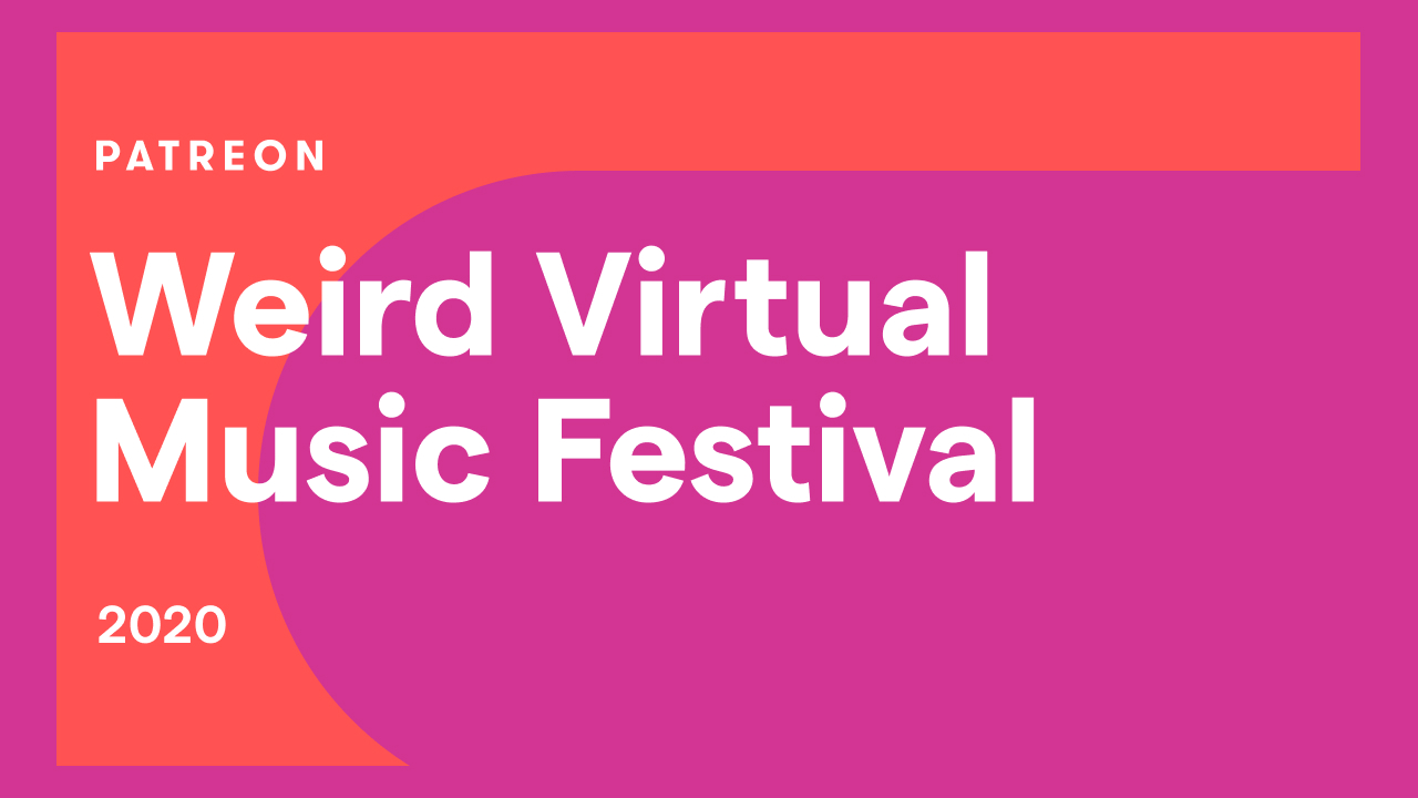 Let's Support Musicians Right Now With a Weird Virtual Music Festival