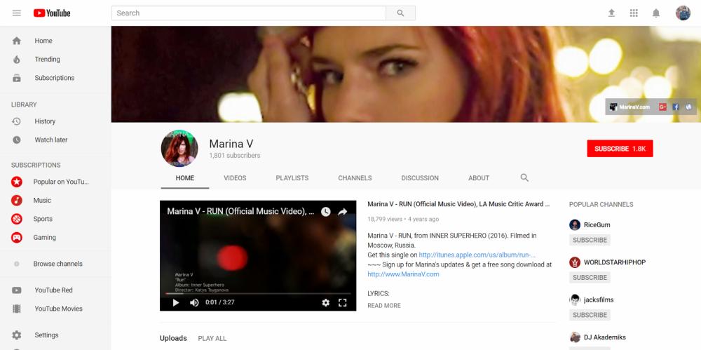 Marina V - Make Money as a Musician Online