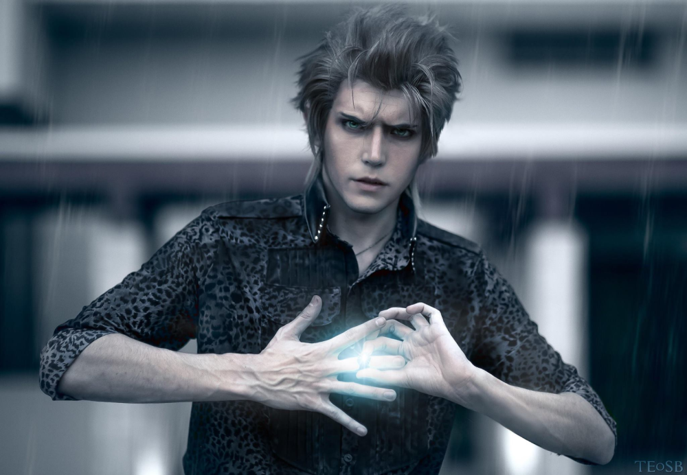Patreon Cosplay: John cosplays Ignis, a character from Final Fantasy XV. Photo credit TEoSB.