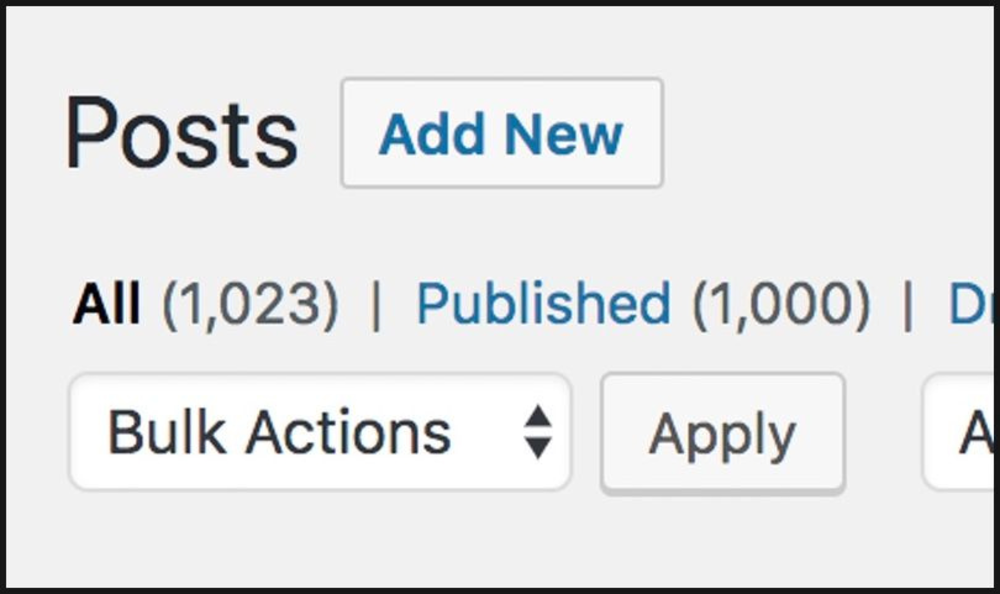 An image showing that they've posted over 1,000 blogs