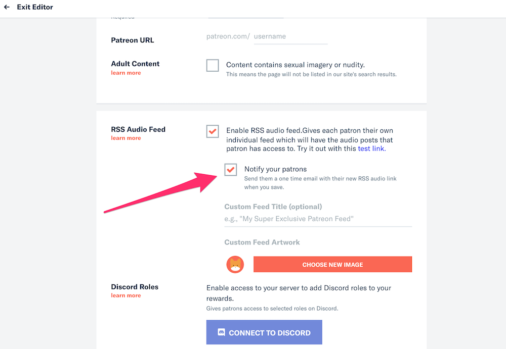 Patreon integrations like the private RSS feed allow you to decide who has access.