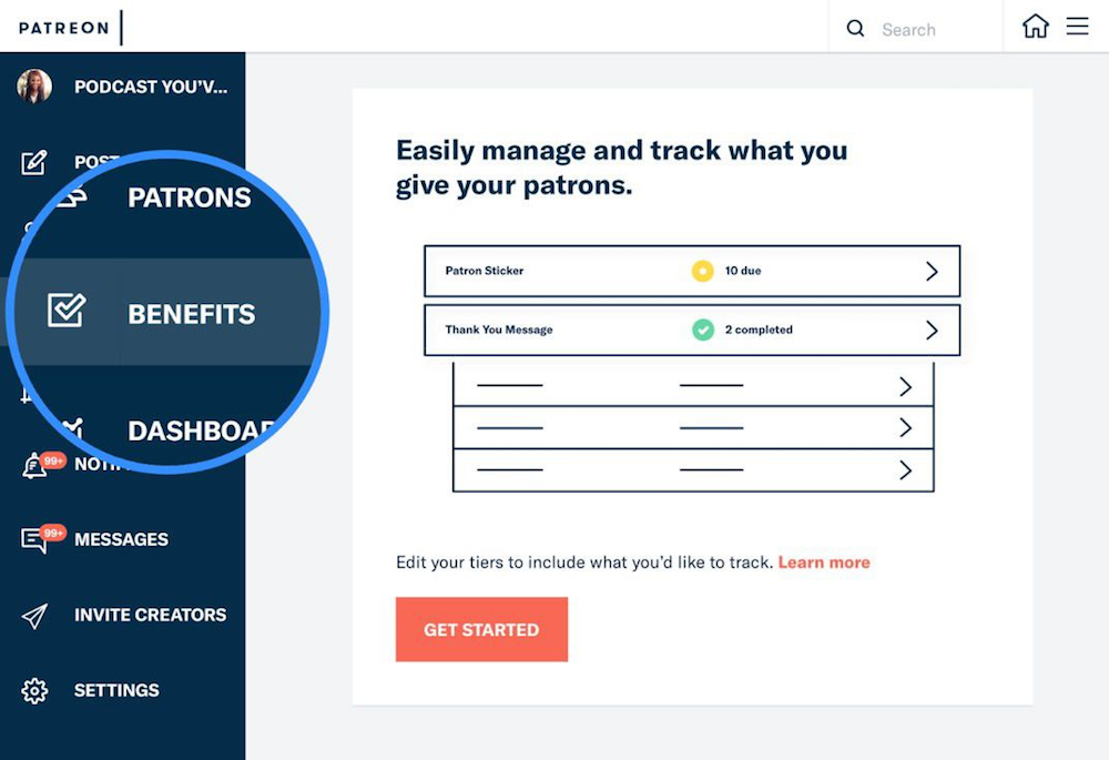The Reward Fulfillment Tracker is an integretion that does just what you'd think - helps you stay on top of Reward Fulfillment!
