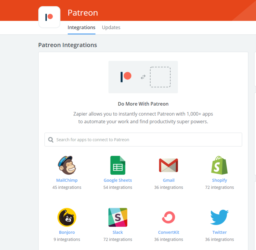 Several of these integrations go hand-in-hand with Zapier.