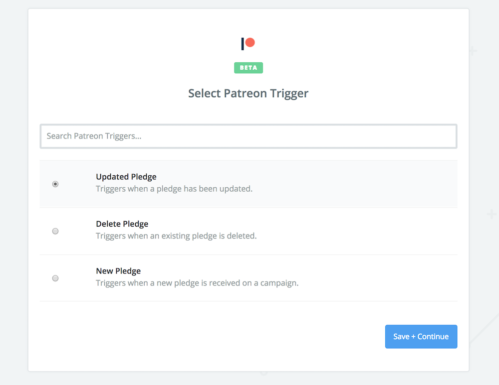 MailChimp allows you to set a Patreon Trigger that automatically adds new patrons to your mailing list
